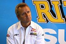 MotoGP - Zwei Jahre f�r den Fu� in der T�r: Schwantz w�re bei Suzuki-R�ckkehr gerne Chef