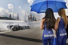 Formel 1 - Vorgeschmack auf 2014: Renault und Virgin: Show-Runden in Russland