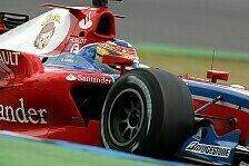 GP2 - Balance-Probleme: Bruno Senna in Reihe 3