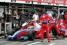 GP2 - Reifenwechsel war doch falsch!: Senna mit der falschen Strategie