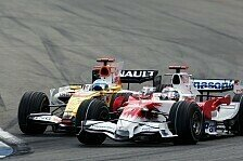 Formel 1 - Renault und Toyota warten: Zwei KERS-Deb�ts erst im Januar