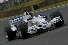 Formel 1 - Bilder: Brands Hatch - BMW Sauber Demorunden