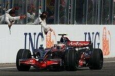 Formel 1 - Entwicklung f�r die WM: McLaren mit neuen Teilen