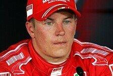 Formel 1 - Ungebrochener Siegeswille: R�ikk�nen will nur gewinnen
