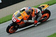 MotoGP - F�r trocken ist alles bereit: Bei Repsol ging es vorw�rts