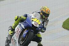 MotoGP - Fabelhafter Valentino Rossi: Qualifying - Rossi holt erste Indy-Pole