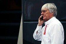 Formel 1 - Mehr Personal als zuvor: Business - Ecclestone sieht keine Krise