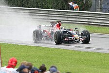 Formel 1, Wetter-Chaos in Japan: Die größten Regenrennen