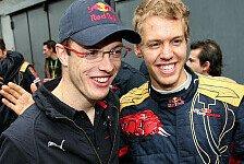 Formel 1 - Immer gut miteinander ausgekommen: Vettel war f�r Bourdais toller Kollege