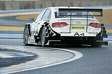 DTM - Audi dominiert im Regen: Kristensen auch im Warm-Up Schnellster