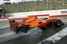 A1GP - Holl�ndische Wasserschlacht: Video - Haupt- und Sprintrennen