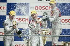 DTM - Remis im Regenpoker: Ekstr�m siegt - Meisterschaft offen