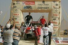 Mehr Rallyes - Ein mechanischer W�stentriathlon: Thomas Holzknecht