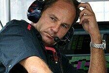 Formel 1 - Kein logischer Grund: Berger sieht Mercedes im Hintertreffen