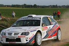 ADAC Rallye Masters - MG geht an den Start