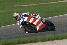 MotoGP - Regen behindert Tests: Tag 2 - Hayden f�hrt Regenbestzeit