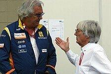 Formel 1 - Es ist noch nicht vorbei: Ecclestone bezweifelt Briatore-Comeback