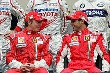 Formel 1 - Keine Freundschaft mit dem Iceman: Massa warnt Alonso: R�ikk�nen schwierig