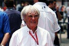 Formel 1 - Genau der Typ, den der Sport braucht: Ecclestone rollt Branson den roten Teppich aus