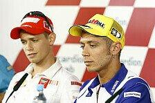 MotoGP - Stoner mahnt: Rossi muss auf Fans einwirken