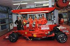Formel 1 - Top-3 testen F60: Ferrari testet wieder den Nachwuchs