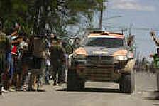 Dakar - Zu hei�: X-Raid-Fahrer Van Merksteijn muss aufgeben