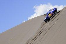 Dakar - VW voll am Dr�cker: Sainz siegt und holt Gesamtf�hrung