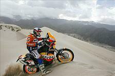 Dakar - 450 statt 690cc, aber trotzdem erlaubt: Technische �nderungen Motorrad