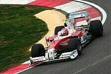 Formel 1 - Shakedown Toyota TF109