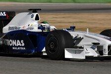 Formel 1 - Testfahrten, BMW Sauber, Valencia