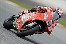 MotoGP - Besser als die alte Pole: Tag 2 - Stoner f�hrt Bestzeit in Sepang