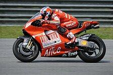 MotoGP - Pedrosa und Kallio st�rzen: Casey Stoner mit Topzeit in Katar