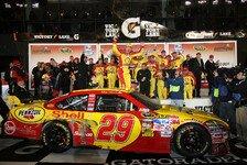 NASCAR - Verr�cktes Showrennen zum Saisonauftakt: Kevin Harvick gewinnt das Shootout