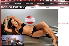 NASCAR - Video: Sexy Danica Patrick: Shooting im Bikini