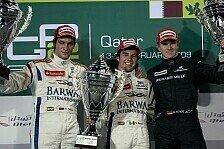 GP2 Asien - Doppelsieg f�r das Campos-Team: Sergio Perez gewinnt das Sprintrennen