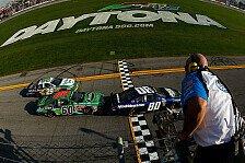 NASCAR - Spannendes Finale zum Saisonauftakt: Nationwide: Schon wieder Tony Stewart