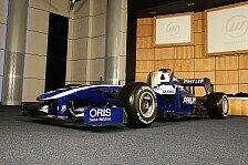 Formel 1 - Neue Williams Lackierung