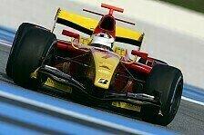 GP2 - High-Speed-Test in Le Castellet: Tag 2: Erst Grosjean, dann Di Grassi