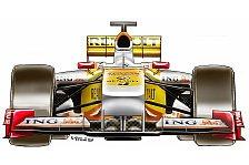 Formel 1 - Lange Entwicklungszeit: Die breite Nase des Renault