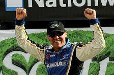 NASCAR - Kyle Busch verliert Reifen und Rennen an der Box: Nationwide: Kevin Harvick erbt den Sieg