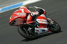 Moto3 - Um Sekunden verpokert: Bradl in der zweiten Startreihe