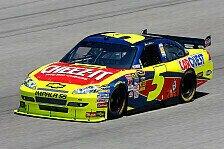 NASCAR - Mark Martin erlebt den dritten Fr�hling: Mark Martin vor den Busch-Br�dern auf der Pole