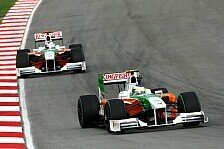 Formel 1 - Adrenalinkick: Force India will in Istanbul wieder ins Q2