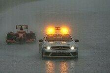 Formel 1 - Hei�, feucht und unvorhersehbar: Wetterprognose: Regen so gut wie garantiert