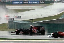 Formel 1 - 15 bis 20 Mal gedreht: Bourdais: H�tten nicht fahren sollen