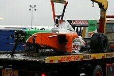 Formel 1 - Ein Herzschmerz-Rennen: Freude und Trauer bei Force India