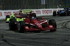 IndyCar - Ein Schotte gewinnt in Long Beach: Starke Vorstellung von Dario Franchitti