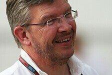 Formel 1 - Kein Konkurrenzgehabe abseits der Strecke : Ross Brawn und die besonderen Konstellationen