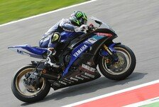 Bikes - Yamaha-Pilot weiter souverän in Front: WSSP - FP2: Crutchlow weiter dominant
