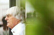 Formel 1 - Der Beginn von etwas Positivem: Ecclestone glaubt an einen Neustart